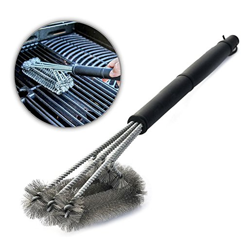 Aodoor BBQ Grill Brush 3 in 1, 18