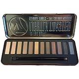 w7 Palette Maquillage 12 Ombres à Paupières Pigmentées et Lumineuses Lightly Toasted 15,6 g