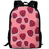 TTmom Cartables,Sac à Dos Loisir, Vintage Summer Fruit Berries College Laptop Backpack Student School Bookbag Rucksack Travel Daypack