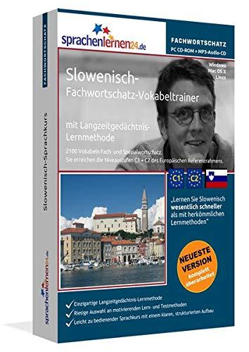 Slowenisch-Fachwortschatz-Vokabeltrainer mit Langzeitgedächtnis-Lernmethode von Sprachenlernen24:...
