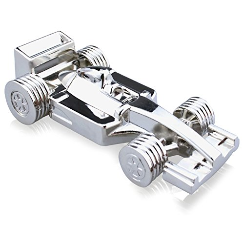818-Shop No28200050032 Hi-Speed 2.0 USB-Sticks 32GB F1 Rennwagen Metall 3D silber