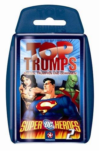 Top Trumps Super DC Heros (Sammelkarten Dc)