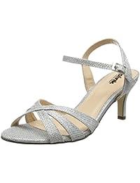 2b5608d6e1863b Suchergebnis auf Amazon.de für  peeptoes silber - Sandalen   Damen ...