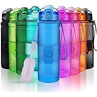 ZORRI Botella de Agua Deportiva - 400ml/500ml/700ml/1000ml sin BPA &