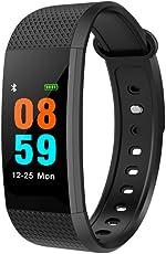 Fitness Tracker, Joyfan cardiofrequenzimetro impermeabile IP68Smart braccialetto attività Tracker color monitor Sleep Wristband con Bluetooth 4.0contapassi per Android 4.4/iOS 8.0sopra