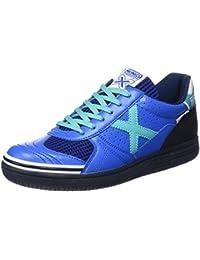 Munich G 3 Classic - Zapatillas unisex, color azul / negro / celeste, talla 41