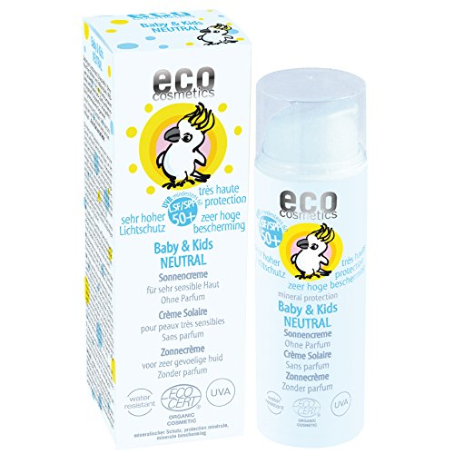 eco cosmetics: bebé& Kids Neutral Crema solar
