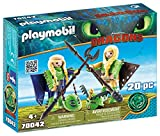 Playmobil- Chusco y Brusca con Traje Volador Juguete, (geobra Brandstätter 70042)