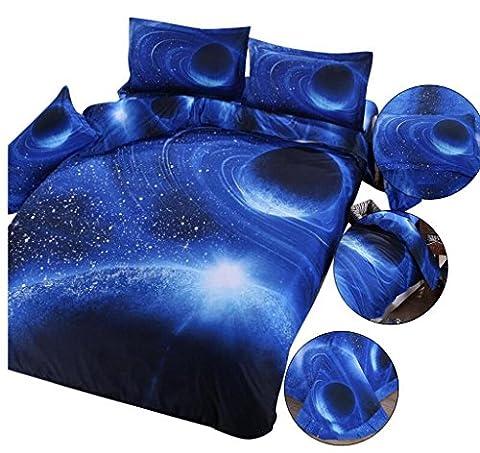 Bettwäsche 3D Blumen Rotary Activity Printing Färben (1 Bettwäsche + 1 Bettdecke + 2 Kissenbezüge) , 2 , 1.5m (5 feet) bed