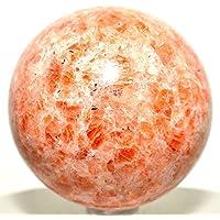 Preisvergleich für Sonnenstein, Kugel, Feldspat, Kristall, Edelstein, poliert, Quarz, von Healing Crystals India, Indien