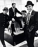 Zeit Leben - Dean Martin, Sammy Davis Jr. und Frank Sinatra Bereit Gerahmt Leinwand - 40 X 50 X 3.8cm (16 X 20 X 1.5 Cm) - mit Klammern und Rahmer Band
