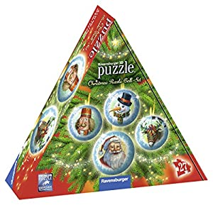 Ravensburger Puzzle 3D 11678Christmas Ball Juego de Piezas de Puzzle
