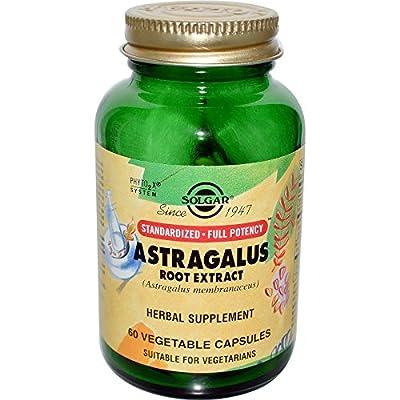 Solgar Astragalus Root Extract Vegetable Capsules - Pack of 60 from Solgar