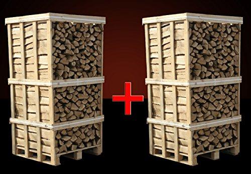 Preisvergleich Produktbild 4 Raummeter, Kaminholz Buche trocken, ofenfertig zum heizen, räuchern, Pizzaria inkl. Versand