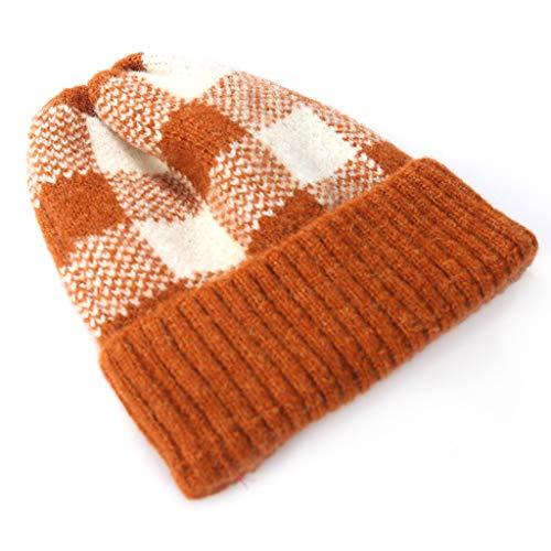 CMOM Baby Slouch Beanie Mütze Warme Stirnbänder Strickmütze Stirnband Hut Turban Unifarbe Wintermütze Baumwollkaps Schals Hüte für Baby Mädchen Jungen Säuglings Kinder 0-38 Monate
