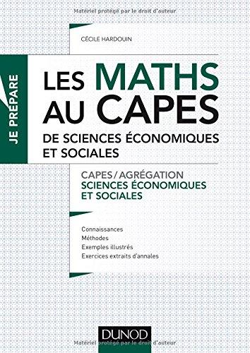 Les maths au CAPES de Sciences économiq...