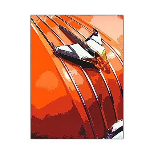 zgmtj NEUHEIT Retro Metall Auto Poster Vintage Wandkunst Malerei Moderne Abstrakte Dekoration Wohnzimmer Drucke Flur Bilder -