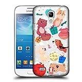 Head Case Designs Hunde Weihnachten Im Weltraum Ruckseite Hülle für Samsung Galaxy S4 Mini I9190