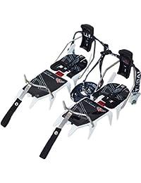 Stubai Sports Trekking Professional Crampons avec levier d'attache et anti-botte adhésive Blanc 930g