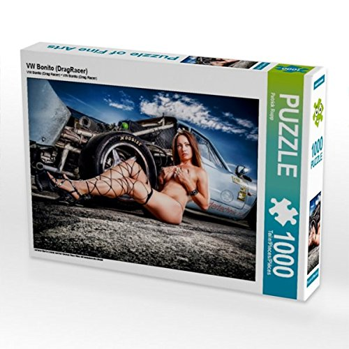 Preisvergleich Produktbild VW Bonito (DragRacer) 1000 Teile Puzzle quer: seltener Bonito Umbau auf den German Race Wars mit bezaubernden Model (CALVENDO Mobilitaet)