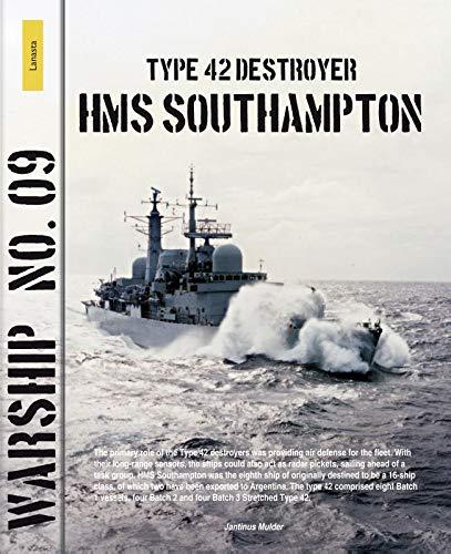 Type 42 destroyer HMS Southampton (Warship (9)) por Jantinus Mulder