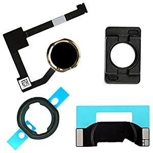 BisLinks® Schwarz & Gold Zuhause Taste Flex Halter Kamera Bracket for iPad Air 2 iPad 6