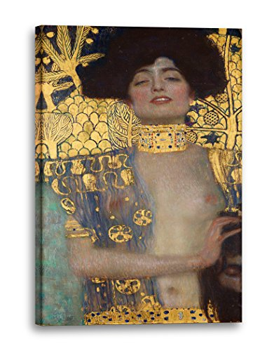 Gustav Klimt - Judith I (1901), 40 x 60 cm (weitere Größen verfügbar), Leinwand auf Keilrahmen...