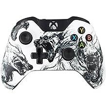 eXtremeRate Funda Carcasa Frontal Cubierta Shell Superior Antideslizante para Mando Xbox One (Lobo)