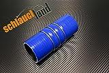FLEX Silikonschlauch ID 64mm blau*** Turboschlauch 0-30° Winkel Verbinder Turbo