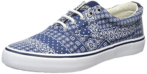 Sperry Top-Sider Herren Striper Ll Cvo Bandana Sneakers, Blau (Navy), 44 EU - Sperries Jungen