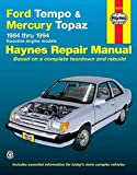 [(Ford Tempo and Mercury Topaz (1984-94) Automotive Repair Manual)] [By (author) Mike Stubblefield ] published on (January, 1989)