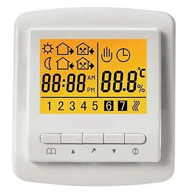 SM-PC®, Raumthermostat Thermostat Digital programmierbar #731 von sm-pc bei Lampenhans.de