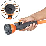 Best Garden Nozzles - HOKIPO® 9 Pattern High Pressure Garden Hose Nozzle Review