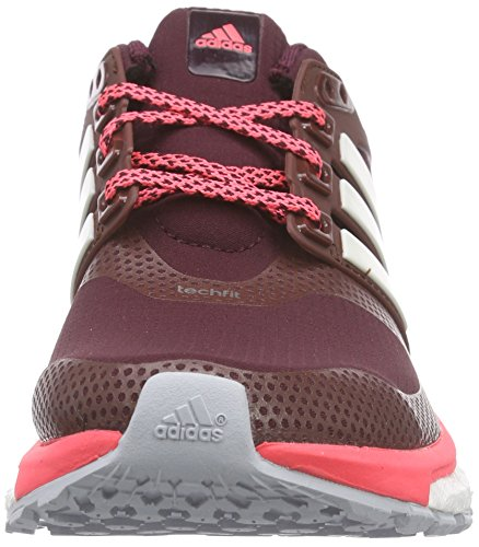 adidas Energy Boost 2.0 Atr, Chaussures de course femme Marron - Braun (Maroon/Chalk White/Flash Red S15)