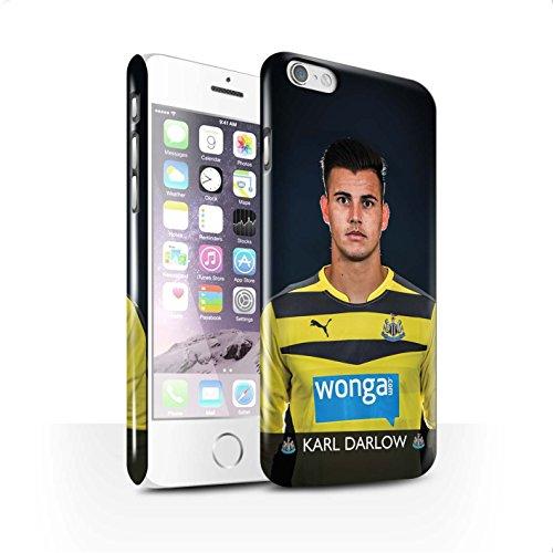 Offiziell Newcastle United FC Hülle / Glanz Snap-On Case für Apple iPhone 6S / Anita Muster / NUFC Fussballspieler 15/16 Kollektion Darlow