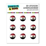 Égypte Drapeau Soccer Ball Futbol Football Home Button Stickers pour Apple iPhone...