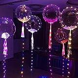 Pawaca Globos Led Colores Globos Luz Intermitente para Fiesta Boda Fiesta Cumpleaños Navidad Reunión Ceremonia
