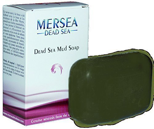 Mersea Totes Meer Mineralschlamm Seife | Testsieger auf totes-meer-therapie.de | Für empfindliche Haut | 125 g | Totes Meer Schlamm & Dead Sea Salz und Palmkernöl aus Israel
