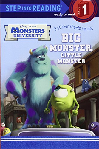 Big Monster, Little Monster [With Sticker(s)] (Step Into Reading. Step 1: Monsters University)