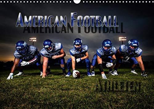 American Football - Athleten (Wandkalender 2020 DIN A3 quer): Dynamische Bilder zeigen die Spieler in heroischen Posen und packenden Spielszenen (Monatskalender, 14 Seiten ) (CALVENDO Sport)