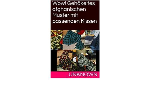 Wow! Gehäkeltes afghanischen Muster mit passenden Kissen eBook ...