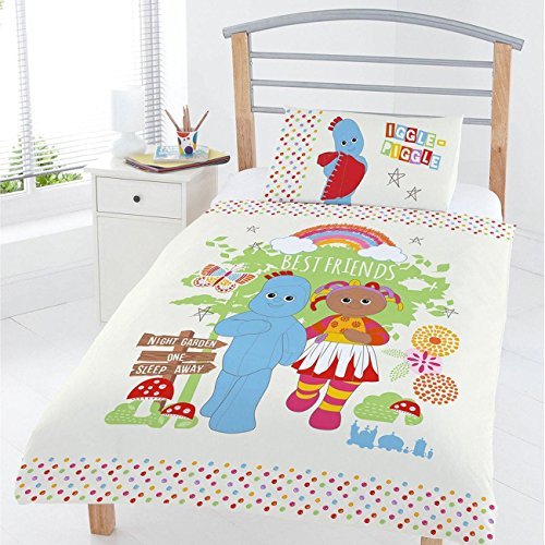 In The Night Garden Best Friends 4 in 1 Junior Bedding Bundle Set (Duvet, Pillow and Covers) -