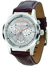 Jorg Gray Herren Armbanduhren Chronograph Quarz Edelstahl JG6800-22