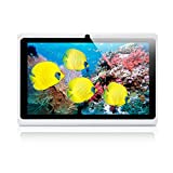 iRULU eXpro 1 Tablet PC (X1), Quad-Core, Android 4.4 KitKat, 16 GB ROM, 7 Zoll mit Auflösung 1024 * 600, Weiss