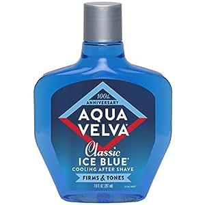 Aqua Velva Après-rasage rafraîchissant - Ice Blue classique (Bleu de glace) - 198 g