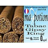 MA POTION - E-Liquide TABAC Gipsy King, Eliquide Français Ma Potion, recharge liquide pour cigarette électronique. Sans nicotine ni tabac