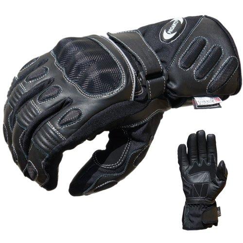 PROANTI Motorradhandschuhe Regen Touring Motorrad Handschuhe Größen M-XXL