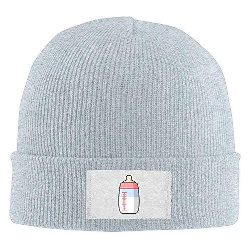 Preisvergleich Produktbild Trsdshorts Adult's Baby Milk Bottle Elastic Knitted Beanie Cap Warm Skull Hats