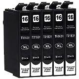 5 Druckerpatronen kompatibel zu Eps...