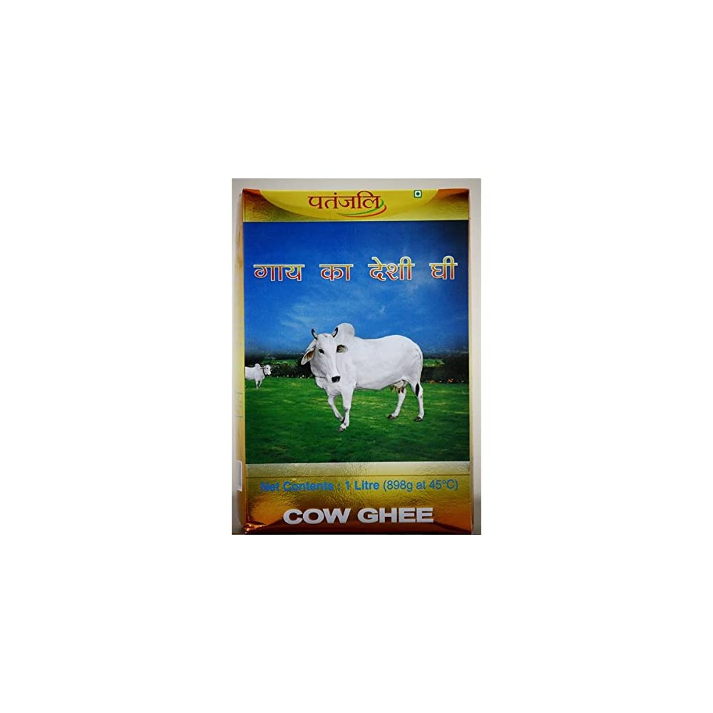 Patanjali Cows Ghee Made From Milk 1 Kg